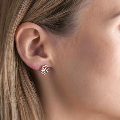 Earrings FLowers | Bronze