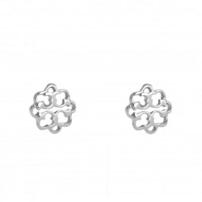 Earrings FLowers | Silver