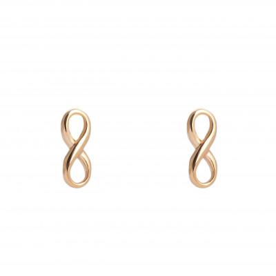 Earrings Infinity | Gold