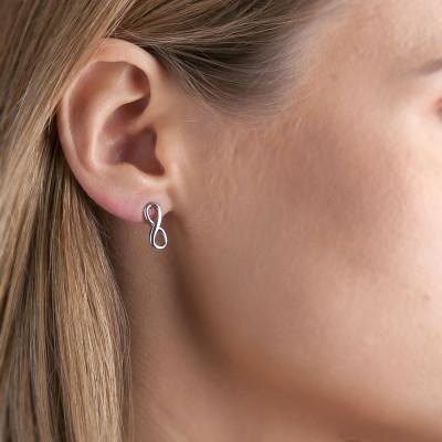 Earrings Infinity | Silver