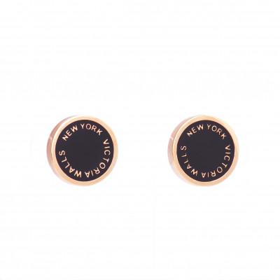 Earrings Round | Bronze