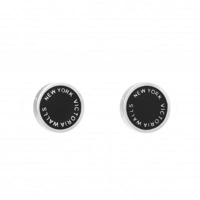 Earrings Round | Silver