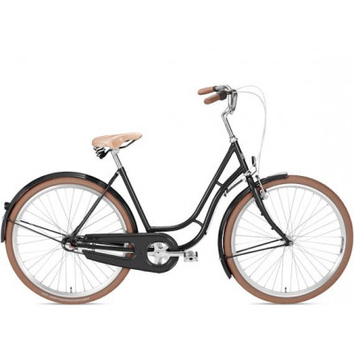 Kopenhagen Damen Fahrrad | Schwarz
