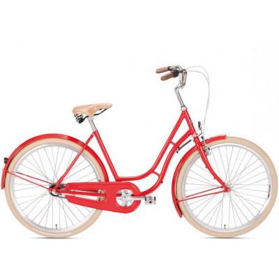 Kopenhagen Damen Fahrrad | Rot