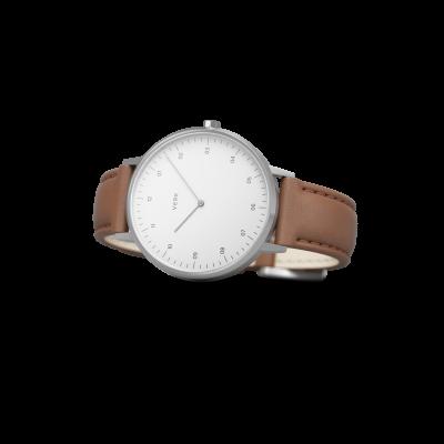 Watch | Silver / Tan