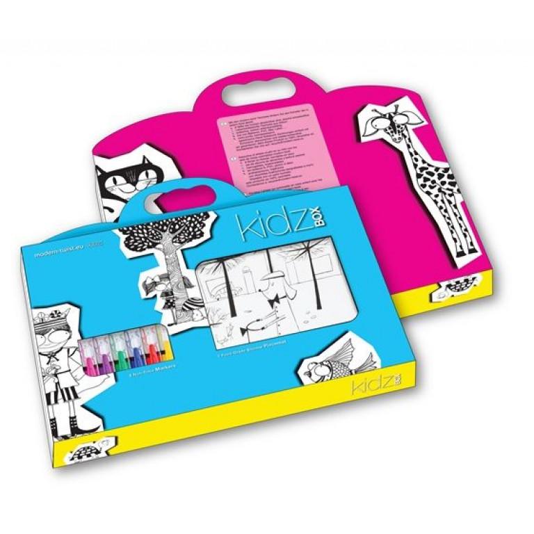 Kidzbox Animal Blocks