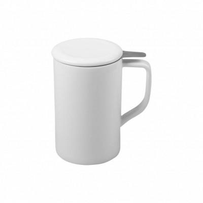 Teetasse mit Sieb Tim | Weiß