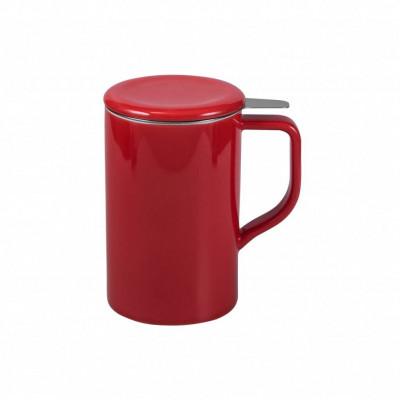 Teetasse mit Sieb Tim | Rot