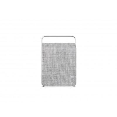 Tragbarer Bluetooth-Lautsprecher Oslo | Kieselgrau