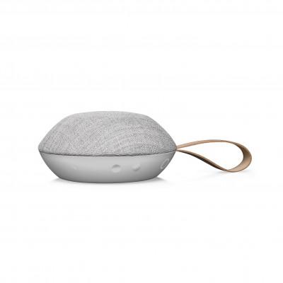 Tragbarer Bluetooth-Lautsprecher Reykjavik | Sandstein-Grau