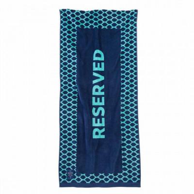 Strandhandtuch Reserved | Blau