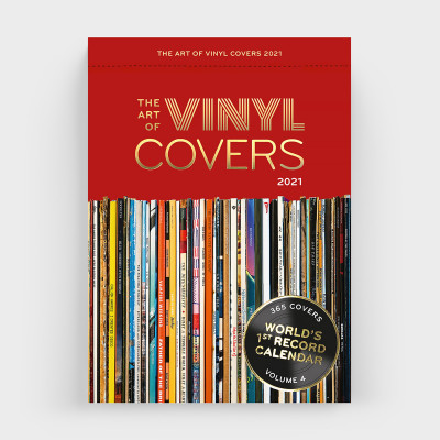 Polaroid-Kalender The Art of Vinyl Covers 2021