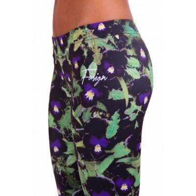 Leggings | Violets