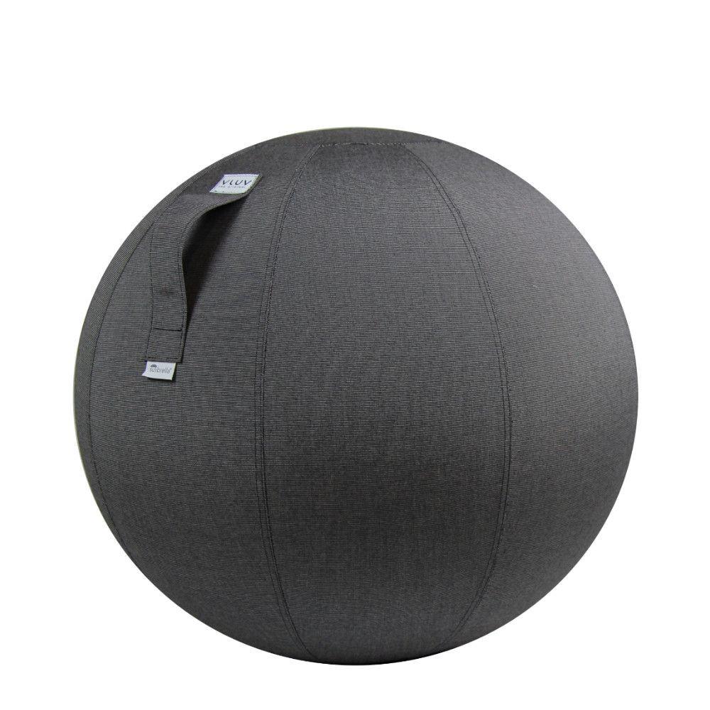 VLUV AQVA-Sitzball | Holzkohle