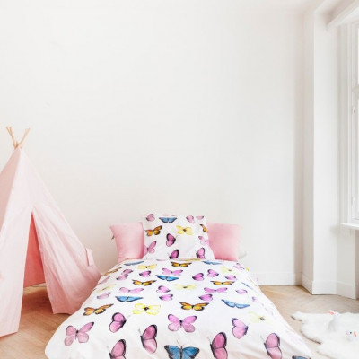 Butterfly Pink Bed Linen