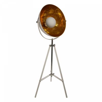 Floor Lamp White Sun | White & Gold