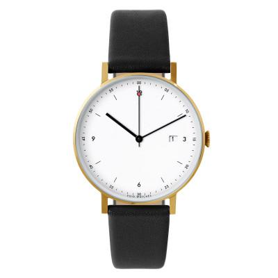 Uhr PKG01 | Gold/Schwarz/Weiß