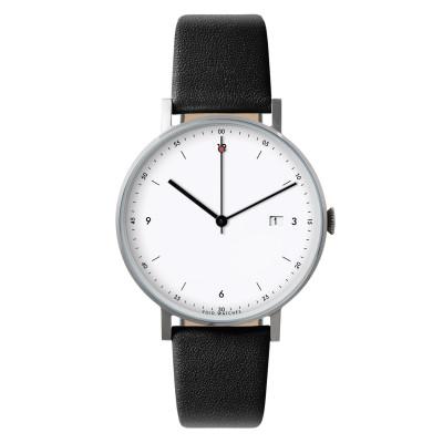 Uhr PKG01 | Silber/Schwarz/Weiß