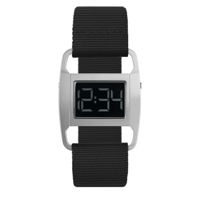 Uhr PXR5 | Silber/Schwarz