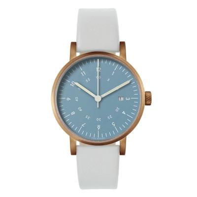 Uhr V03D | Kupfer/Hellgrau/Marine