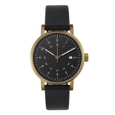 Uhr V03D | Gold/Schwarz/Schwarz