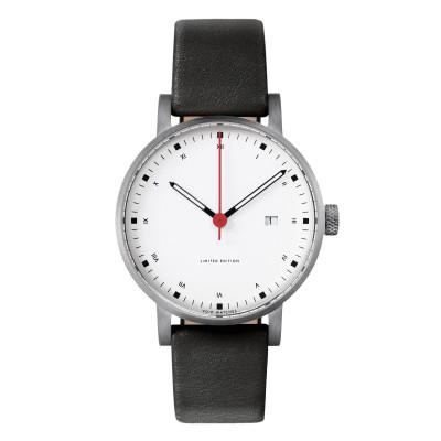 Uhr V03D-METIS | Stahl/Schwarz/Weiß