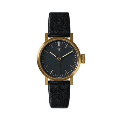 Uhr V03P Petite | Gold/Schwarz/Schwarz