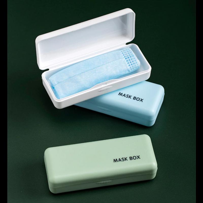 Maskenbox | Olivgrün