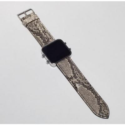 Digital Watch | Silver, Serpent Bracelet