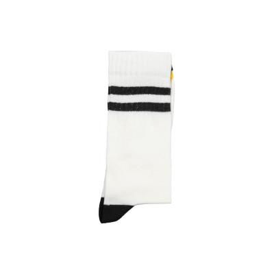 Unisex-Socken   Zwei Streifen schwarz