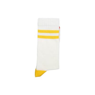 Unisex-Socken   Zwei gelbe Streifen