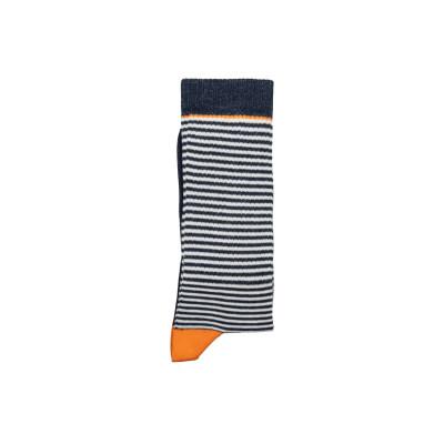 Unisex-Socken   Multi Stripes Navy