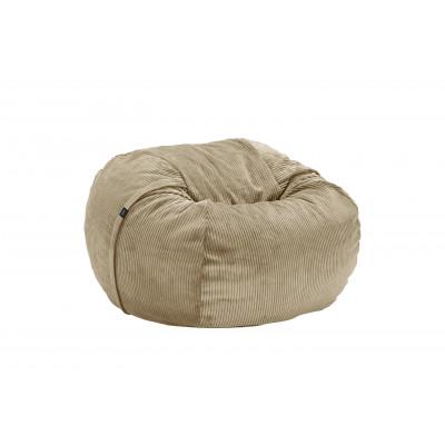 Sitzsack Cord Velours | Khaki