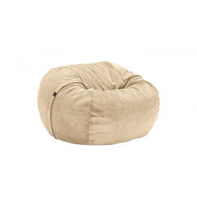 Sitzsack Cord Velours | Sand