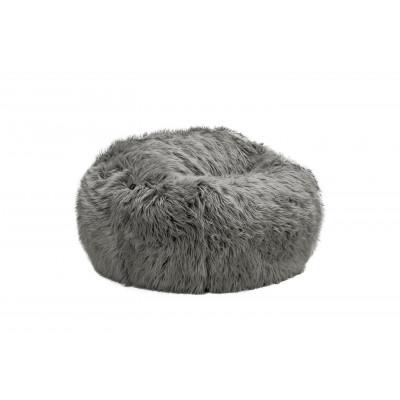 Sitzsack Flokati | Grau