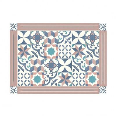 4er-Set Tischmatten Mosaik | Maroc Vinyl