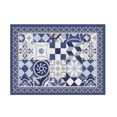 4er-Set Tischmatten Mosaik | Pompei Vinyl