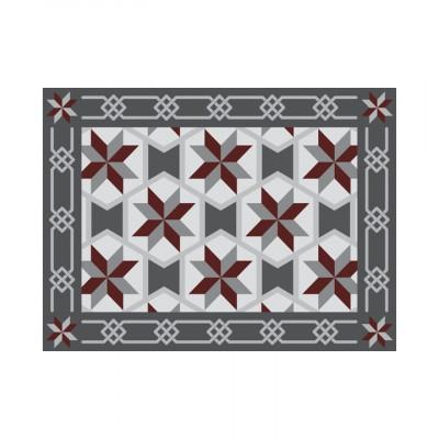 4er-Set Tischmatten Mosaik | Rom Vinyl