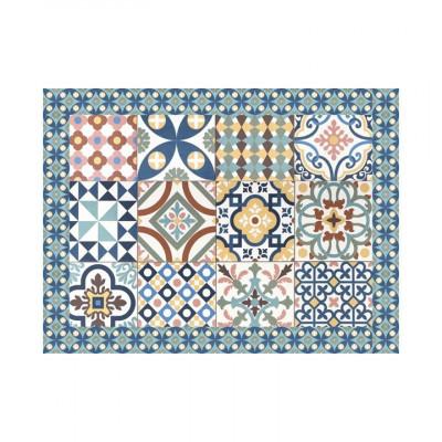 4er-Set Tischmatten Mosaik | Siena Vinyl