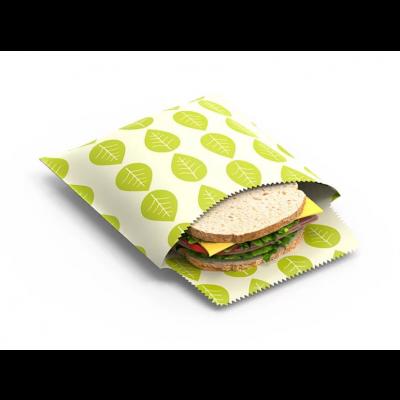 Wiederverwendbare Sandwich- und Snacktüten 2er-Set | Vegan