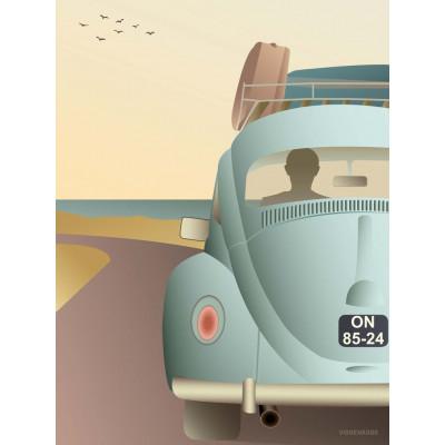VW-Käfer-Poster
