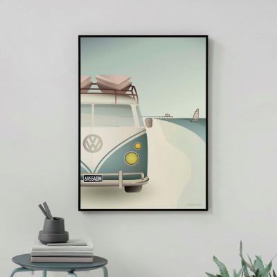 Poster   VW Camper