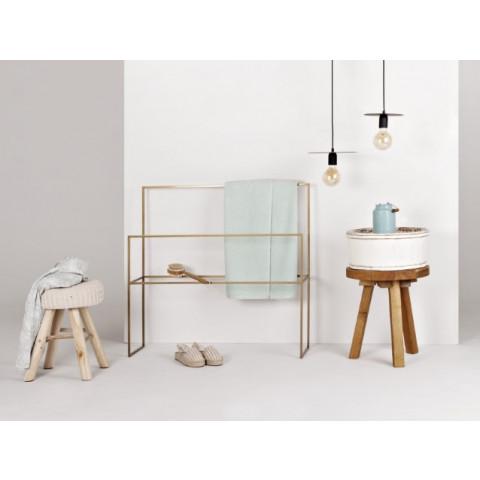 Bath Hanger Barel | White