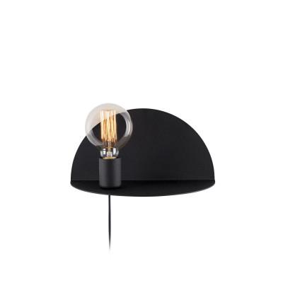 Wandlampe Shelfie | Schwarz