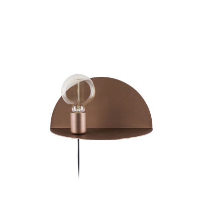 Wandlampe Shelfie | Kupfer