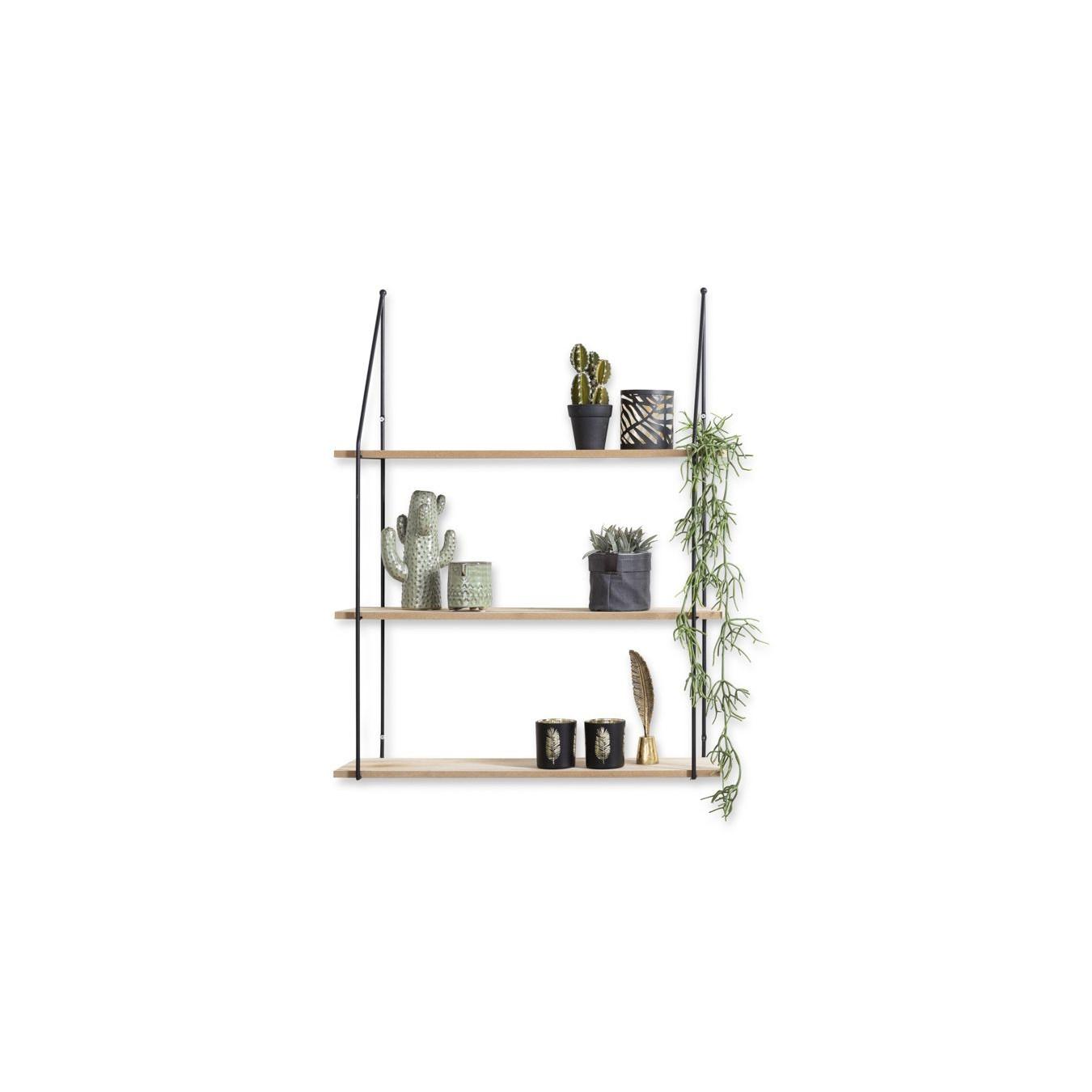 Wall Rack | Alicante | 3 Shelves