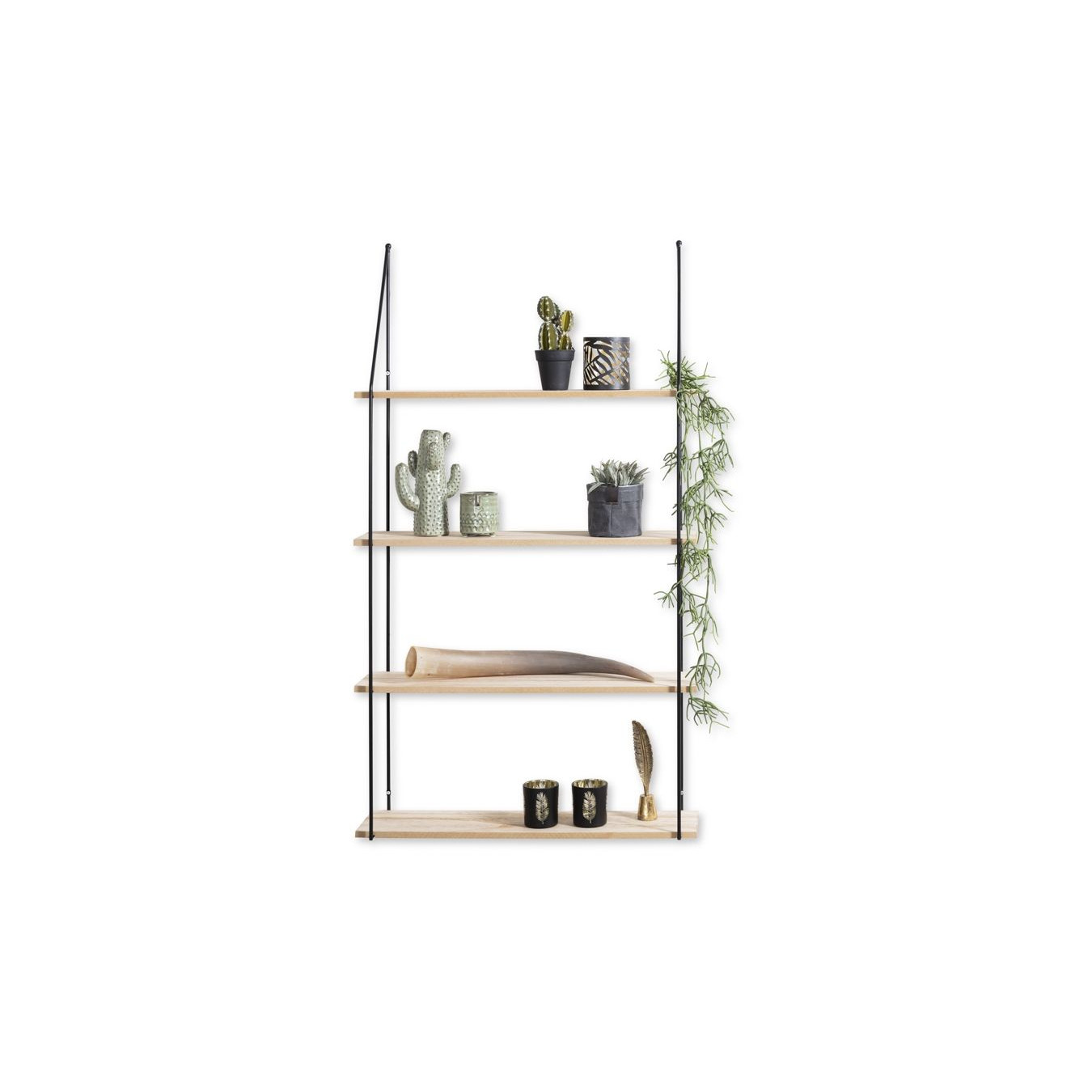 Wall Rack   Alicante   4 Shelves
