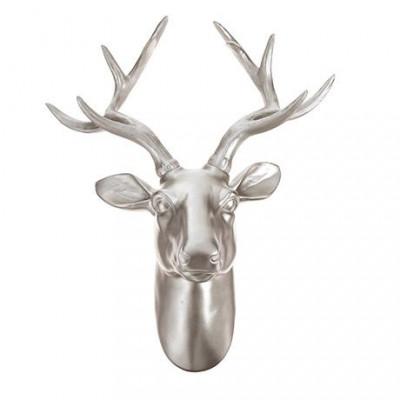 Premium Deer Head Wall Art | Gold