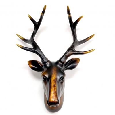 Deer Head Wall Art | Copper