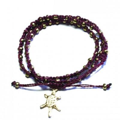 Bracelet | Wachinik Aubergine